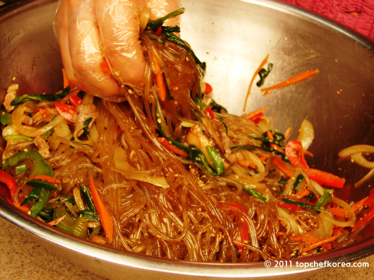 Japchae recipe authentic for Authentic korean cuisine